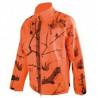 Softshel camouflage orange