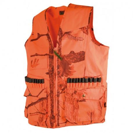 Gilet anti-ronce camouflage orange 600D - T251N