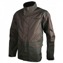 Veste de traque nano resist vert / marron - 434