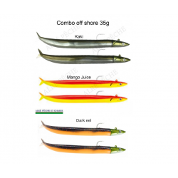 Crazy sand eel 180 double combo
