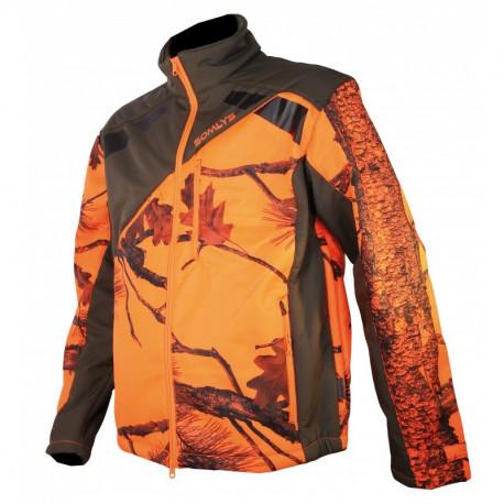 Veste Softshell Sherpa Camo Orange 418