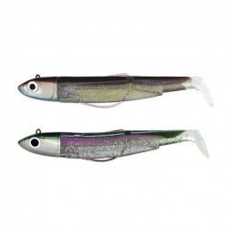 Double Combo Black Minnow 140