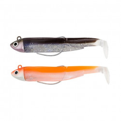 Double Combo Black Minnow 70