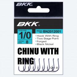 BKK chinu black nickel avec oeillet