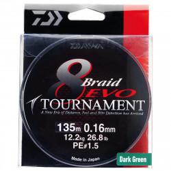 Tournament 8 Braid Evo Dark Green