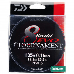 Tournament 8 Braid Evo Chartreuse