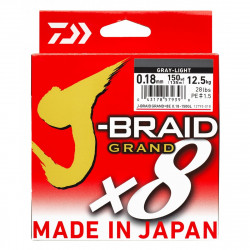 J-Braid Grand x8 Grise