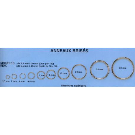 Anneaux Brisés Inox