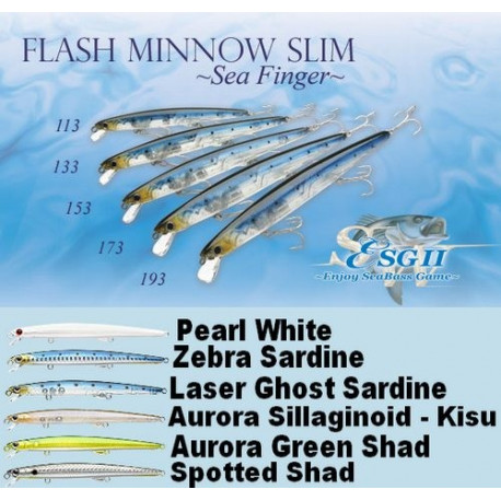 Flash Minnow Slim Sea Finger