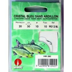 Cristal Bleu Sans Ardillon