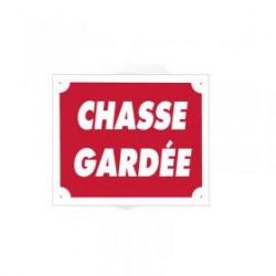 Pancarte Akyl - Chasse Gardée