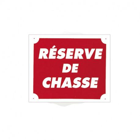 Pancarte Akyl - Réserve de Chasse
