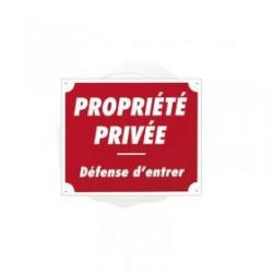 Pancarte Akyl - Propriété privée