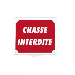 Pancarte Akyl - Chasse Interdite