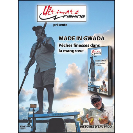 DVD ULTIMATE FISHING MADE IN GWADA