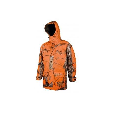 Veste Matelassée Imperméable Camou Orange 461 L