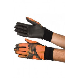 Gants Camouflage Orange