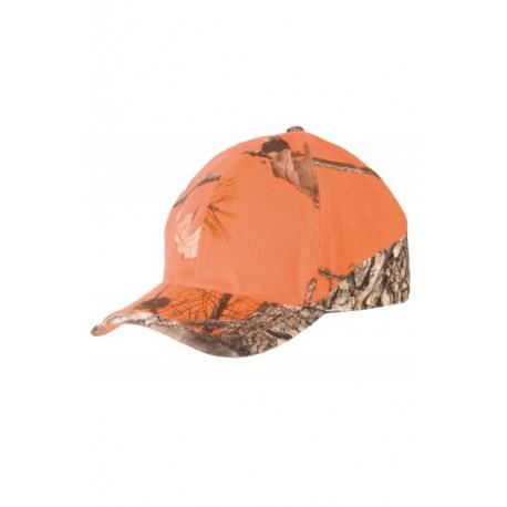 Casquette Camou Orange et 3DX