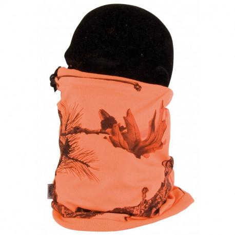 Tour de cou camouflage orange