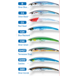 Crystal 3D minnow