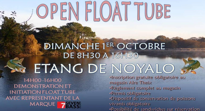Open float tube